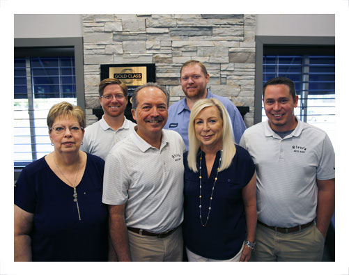 Steve's Autobody office staff
