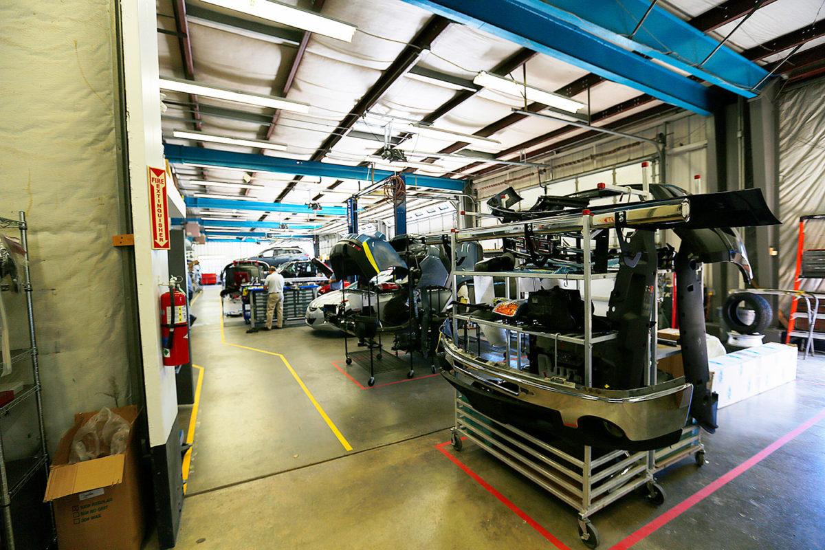 collision center repair shop