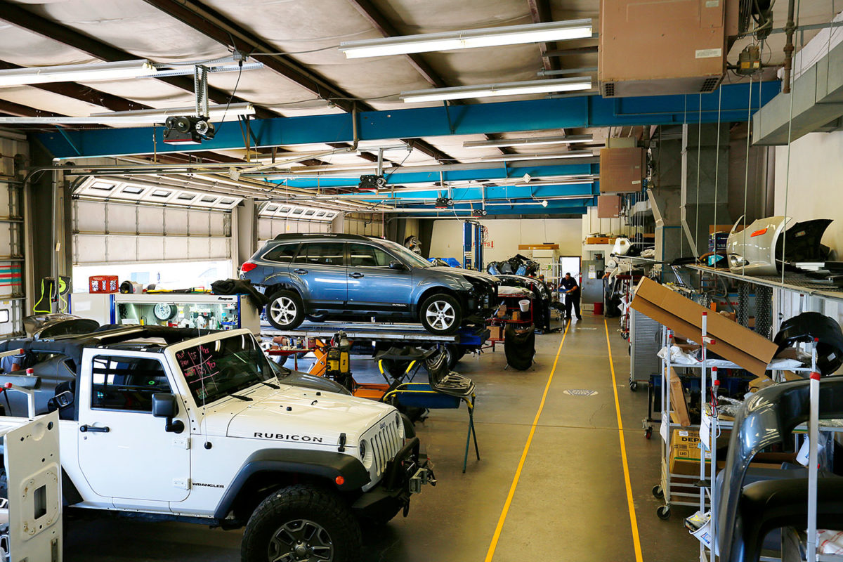Take A Look Inside Steve S Auto Body S Offices Collision Repair Facility